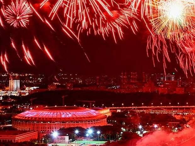 Россияне смогут посмотреть праздничный салют по трансляции из Москвы