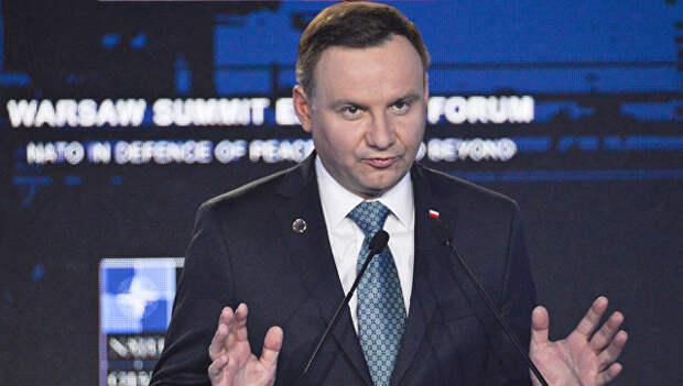 """Президент Польши заявил о """"захвате"""" страны СССР в 1945 году"""