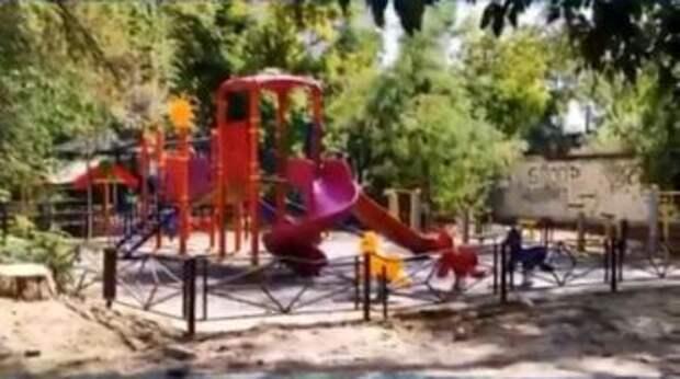 В Шымкенте нашли тело девушки на детской площадке