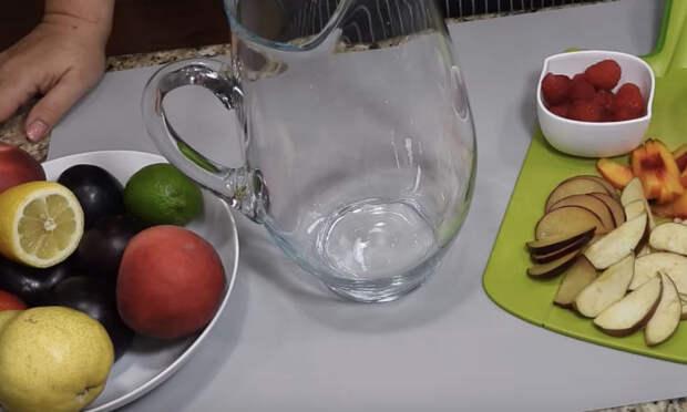 Ленивый компот без варки: вместо воды и чая