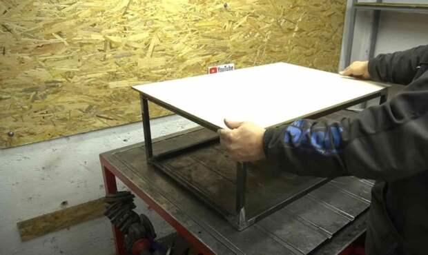 Идея для мастерской: настольная мини циркулярная пила своими руками