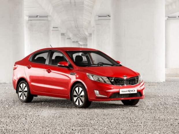 Kia Motors удалось незначительно снизить продажи благодаря Rio