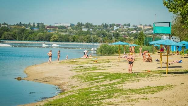 Власти Ростова определи три пляжа для купания этим летом