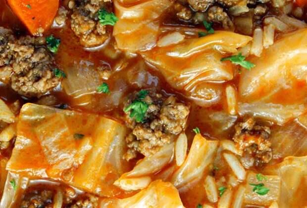 Как приготовить самый вкусный суп с капустой