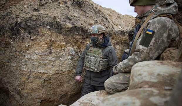 Эксперт Рогов: Зеленский получил установку от США на начало войны в Донбассе