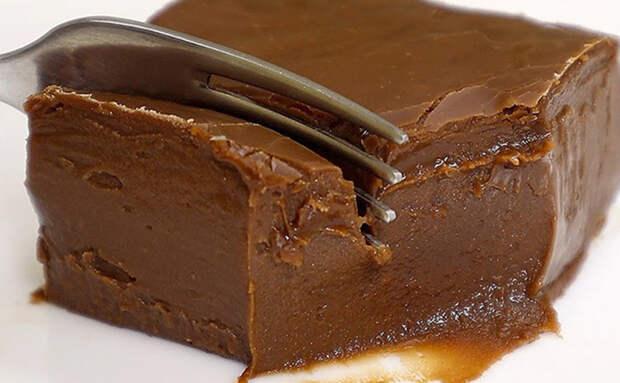 Десерт как мороженое: без выпечки, желатина и муки. Замораживаем молоко с шоколадом и ждем