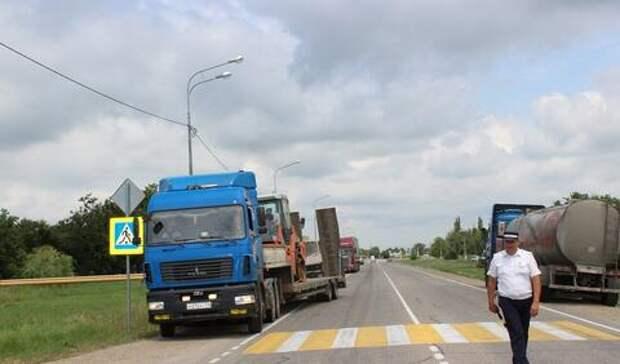 Стало известно, где и когда ограничат движение грузовиков в Краснодаре
