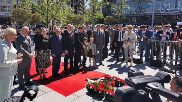 Как Белград встретил День Победы