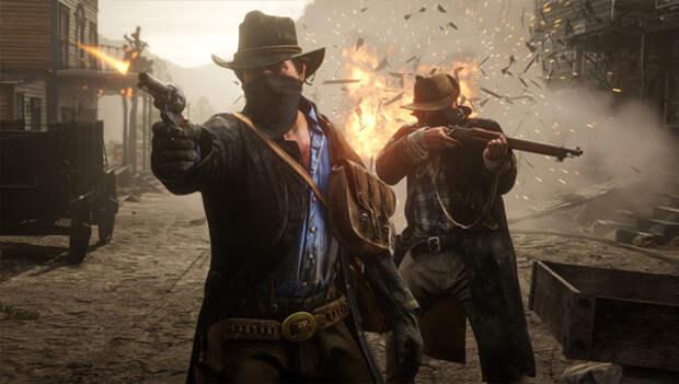 Red Dead Redemption игра