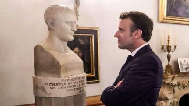 Речь Макрона вгодовщину смерти Наполеона иего политическое значение