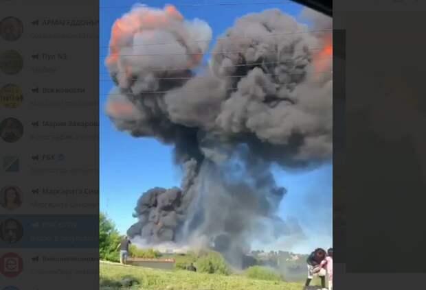 "Взорвавшаяся на ""Еврогазе"" цистерна пролетела 300 метров"