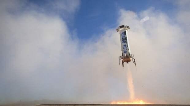 Безос назвал дату запуска космической ракеты New Shepard с туристами