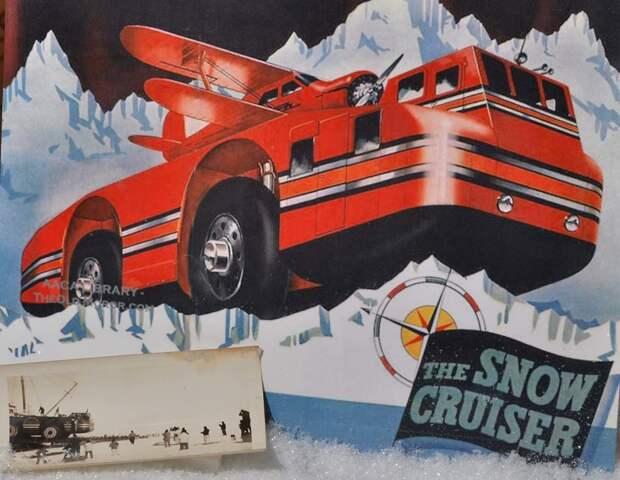 Машина для Антарктиды: удивительная история «Снежного крейсера»