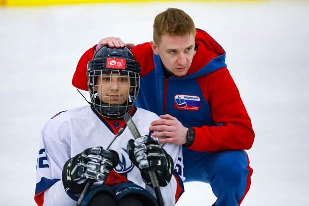 Всероссийский фестиваль адаптивного хоккея прошел в Городецком районе