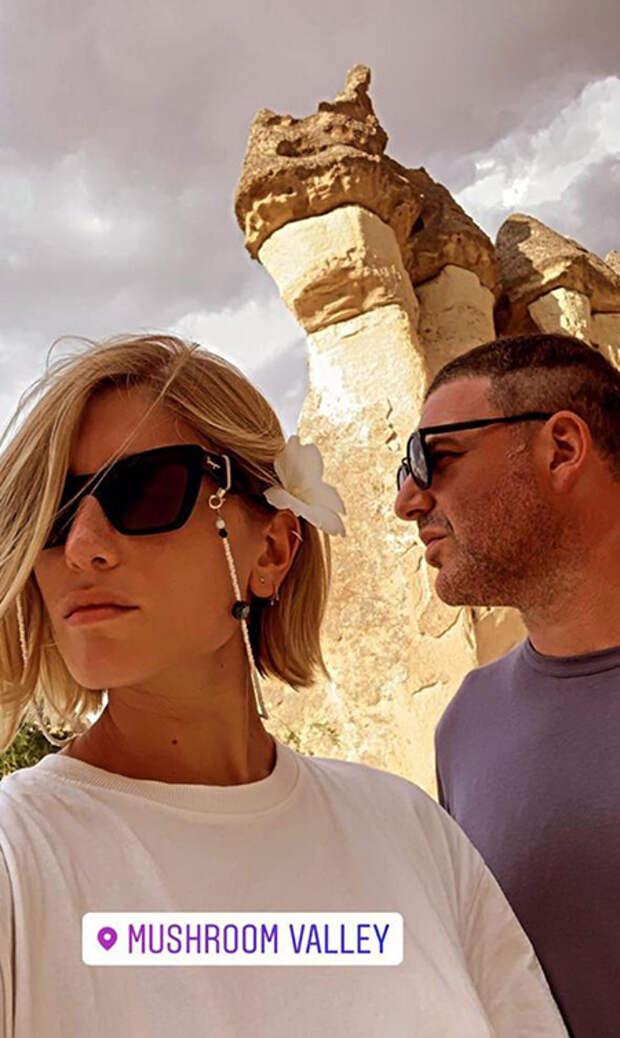 Максим Виторган отметил день рождения с Нино Нинидзе на воздушном шаре в Каппадокии