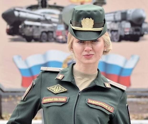 Королеву красоты выбрали в Вооруженных силах России