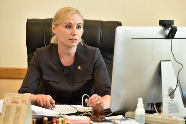 Первый зампред правительства Анна Рослякова публично отчитается перед рязанцами