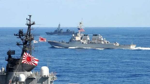 Франция впервые примет участие ввоенных учениях Японии иСША