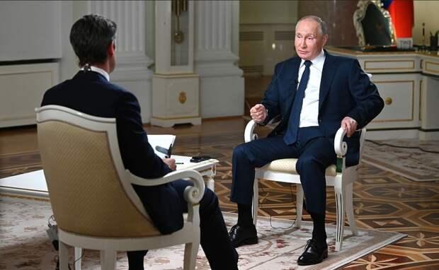 Провокация не удалась: интервью Путина с NBC