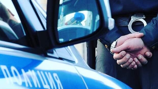 Полицейские Подольска задержали подозреваемых в краже стройматериалов