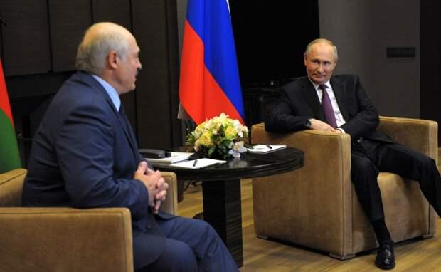 Путин и Лукашенко объединятся для участия в форуме
