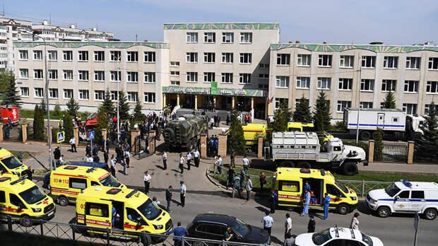 Песков оценил действия учителей во время стрельбы в казанской школе