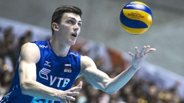 Алтайский волейболист вновь сыграет за национальную команду
