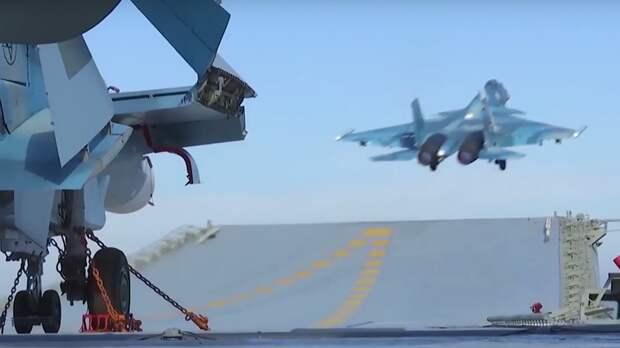 Капитан Дандыкин перечислил основные задачи для  новейшего авианосца ВМФ России