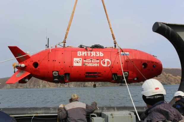 Китайский подводный беспилотник опустился на рекордную глубину