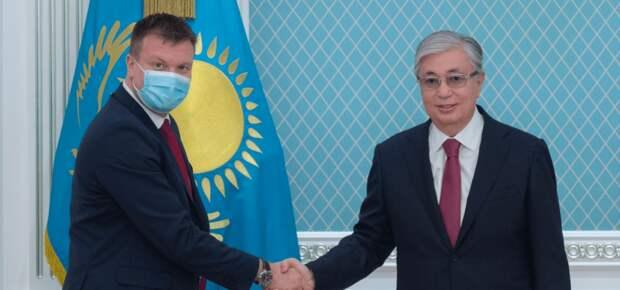 Токаев принял министра внешней торговли и содействия международному развитию Финляндии