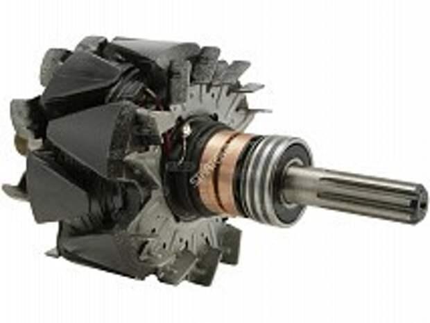 Ротор генератора автомобиля