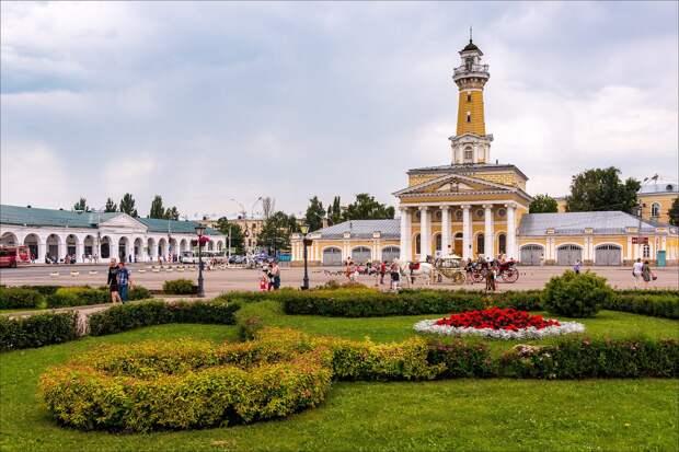 В честь кого назван город Кострома?