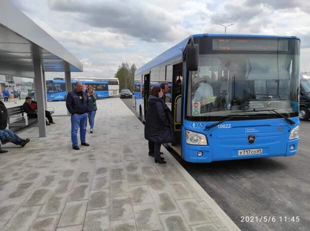 От новой железнодорожной станции до Ржевского мемориального комплекса теперь можно доехать на автобусе
