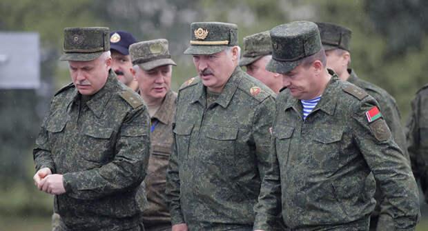 Учения НАТО в Белоруссии? Лукашенко зарывается всё глубже