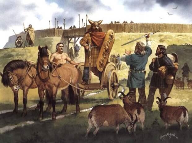 Галльские переселенцы в Британии (середина I в. до н.э.)