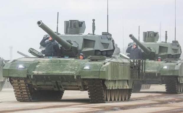 """На фото: танки Т-14 """"Армата"""""""