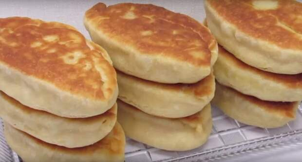 Пирожки без заморочек на кефире и соде