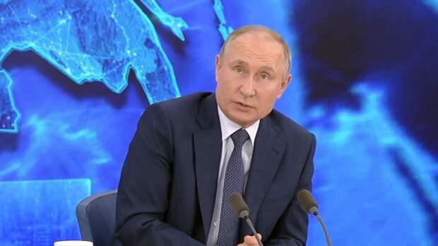Путин призвал россиян вакцинироваться от COVID-19