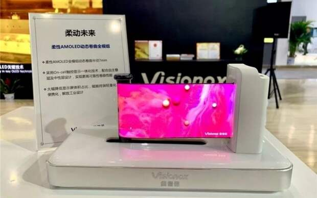 Китайская компания Visionox будет поставлять Huawei дисплеи для смартфонов Honor и Nova
