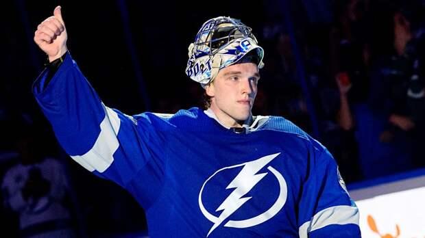 Василевский повторил личный рекорд по числу побед подряд и установил историческое достижение в НХЛ
