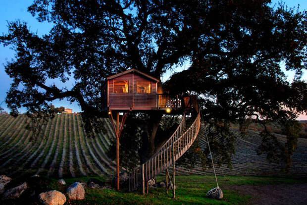 Ради этого домика на дереве вы бросите все и переедете в Тоскану