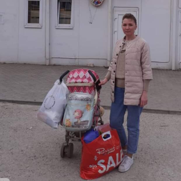 Волонтеры из Куркина оказали помощь семьям из Ивановской области