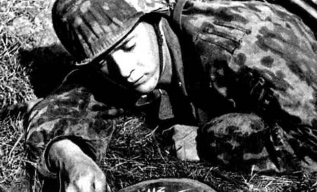 Ловушка-карандаш: мина Вермахта, замаскированная под трофей