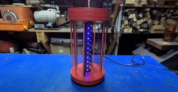 Самодельная электрическая ловушка для мгновенного уничтожения комаров и мух