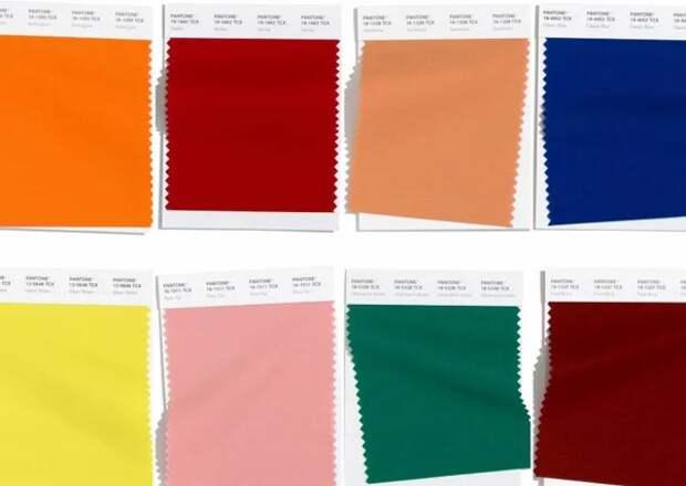 Фото 3  - модная палитру цветов на осень/зима 2020/2021 гг. Институт Pantone, США
