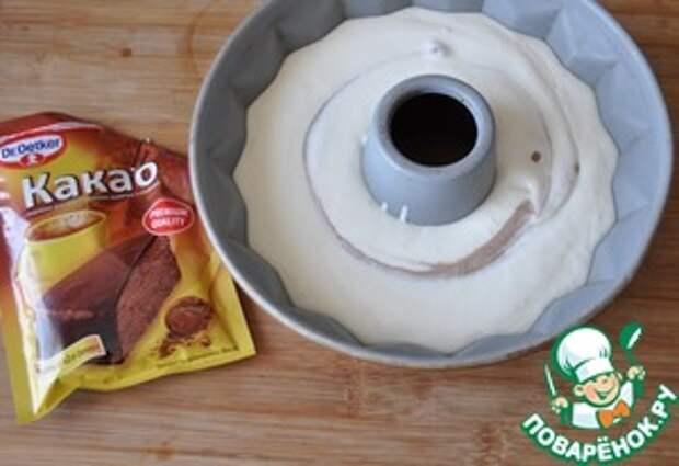 """Творожный десерт """"Клюква с шоколадом"""""""