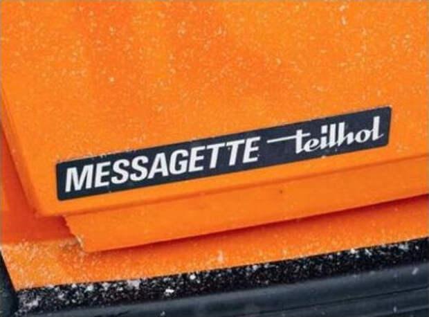 1976 Teihol TVE Messagette