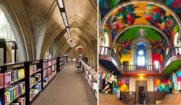 5 красивых церквей, которым нашли радикально новое применение
