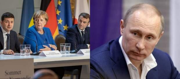 «Это уже за гранью. Макрон сделал грязное дело»: Зеленский обратился к Путину