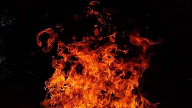 На Сенном рынке в Краснодаре произошел крупный пожар